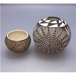 Pair of Acoma Pots