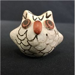 Acoma Owl Pottery Effigy - Lewis