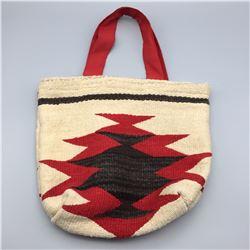 Vintage Navajo Textile Bag