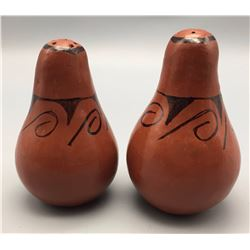 Pottery Salt and Pepper Shakers, Barbara Johnson