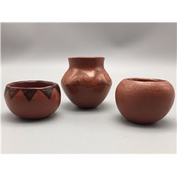 Group of 3 Maricopa Pottery Items