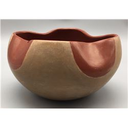 Mary Juan Pottery Bowl and Picture