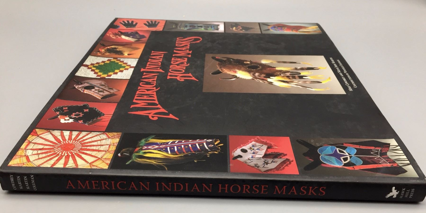 American Indian Horse Mask Book