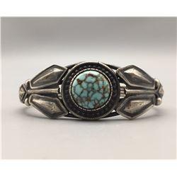 #8 Turquoise Bracelet - Signed