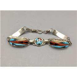 Zuni Inlay Bracelet - Edaakie