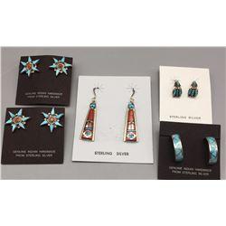 5 Pair of Earrings