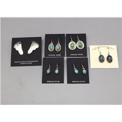 6 Pair of Earrings