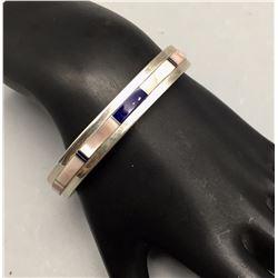 Sterling Inlay Bracelet