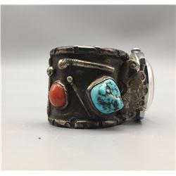Vintage Navajo Watch Bracelet