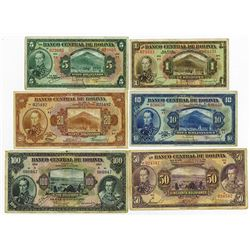 Banco Central De Bolivia, 1928 ABN Banknote Issues.