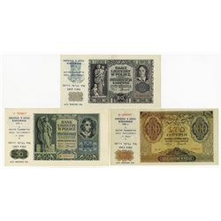 Poland, 1940-1941 (1986), Trio of Judaica Related Notes