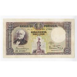 Banco de Portugal, 1932, Issued Note.