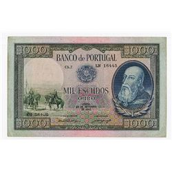 Banco de Portugal, 1942, Issued Note.