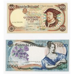 Banco de Portugal, 1967-1979, Issued Pair.