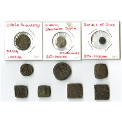 Assortment of Earlier India Coins.
