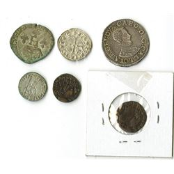 France, Italy. Group of Early Coins.