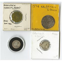Great Britain and Canada, Quartet of Coins.