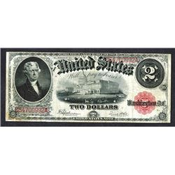 United States Note. 2 Dollars. Series of 1917.