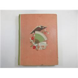 """Moden Almnach"", 1933, Clothing Styles Illustrated Card Book"