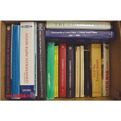Collection of 14 Reference Books Including Early Paper Money of America by Eric P. Newman, 4th Editi