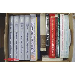 Collection of 17 Reference Books Including the Encyclopedia of the Confederacy, Volume 1 to 4.