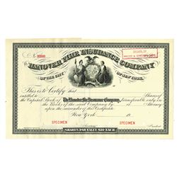 Hanover Fire Insurance Co., ca.1900-1920 Specimen Stock