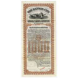Kansas City Stock Yards Co. 1900 Specimen Bond.