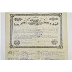 Real Estate Mortgage Bond, 1907 Issued Bond