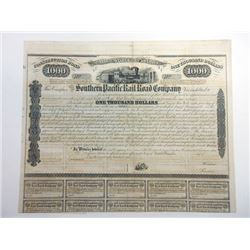 Southern Pacific Rail Road Co., ca.1880-1900 Unissued Bond