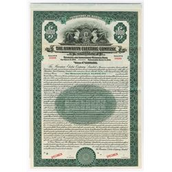 Hawaiian Electric Co. Ltd. Specimen Bond.