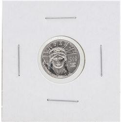 1999 $10 Platinum American Eagle Coin BU