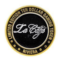 .999 Silver Riviera Hotel & Casino $10 Casino Limited Edition Gaming Token