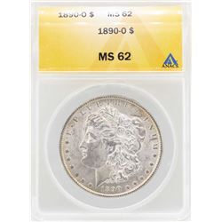 1890-O $1 Morgan Silver Dollar Coin ANACS MS62