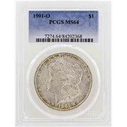 1901-O $1 Morgan Silver Dollar Coin PCGS MS64