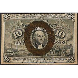 March 3, 1863 Ten Cent Second Issue Fractional Note