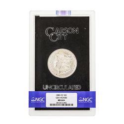 1883-CC $1 Morgan Silver Dollar Coin NGC MS64+ GSA