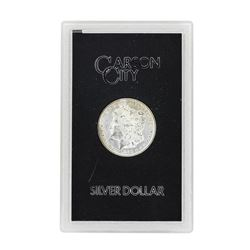 1881-CC $1 Morgan Silver Dollar Coin GSA w/ Box & COA