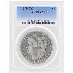 1879-CC $1 Morgan Silver Dollar Coin PCGS VG10