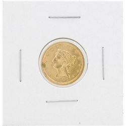 1901 $2 1/2 Liberty Head Quarter Eagle Gold Coin