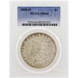 1898-O $1 Morgan Silver Dollar Coin PCGS MS64