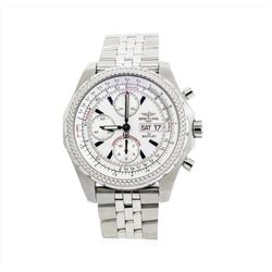 Breitling for Bentley Continental GT Stainless Steel Watch