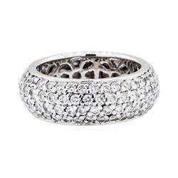 14KT White Gold 3.40 ctw Diamond Ring