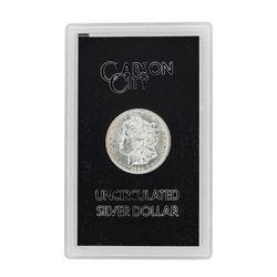 1884-CC $1 Morgan Silver Dollar Coin GSA w/ Box & COA Uncirculated