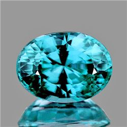 Natural Intense Blue Zircon 2.32 Cts - FLawless