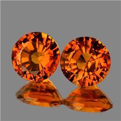 Natural  Fanta Orange Spessartite Garnet 5.00 MM {VVS}