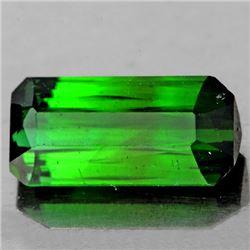 Natural  Chrome Green Tourmaline 10x5 MM