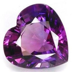 Natural Purple Amethyst Heart 102.25 Carats - VVS