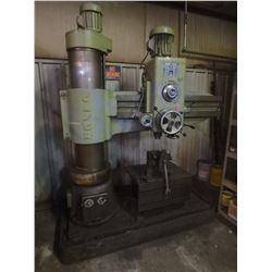 4' Caser Radial Drill