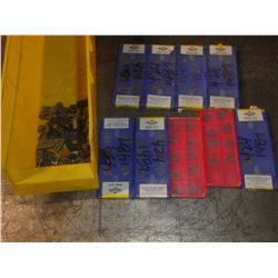 Lot of Carbide Inserts