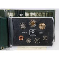 2002 CANADIAN 7 COIN SPECIMEN SET
